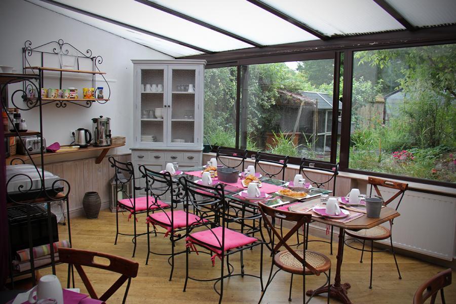 Les jardins du corrigot d je ner dans la v randa - Chambre dans veranda ...